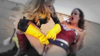 Streaming porn video still #4 from Wonder Woman XXX: An Axel Braun Parody