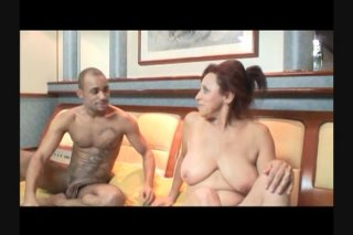 Streaming porn scene video image #2 from Hard Tranny Cums While Riding Cock
