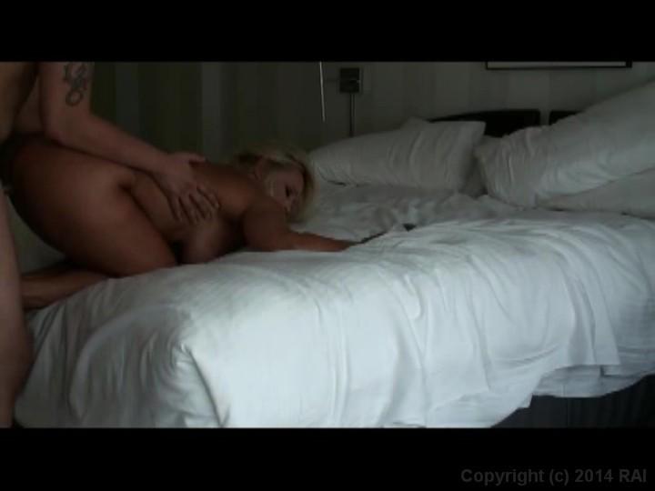 Busty blonde milf fucked in hotel room