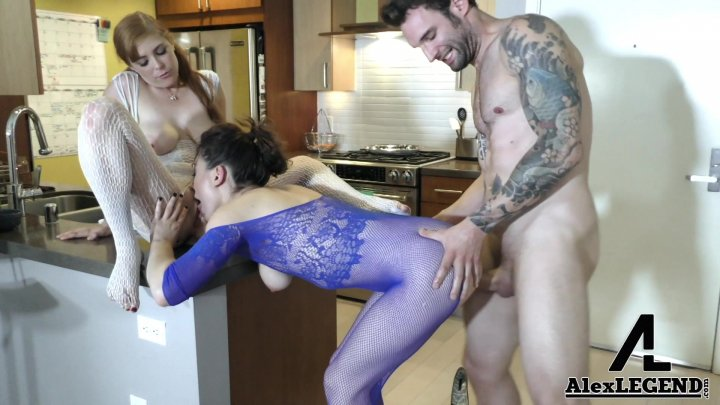 Streaming porn video still #1 from Awesome Threesome Volume 3