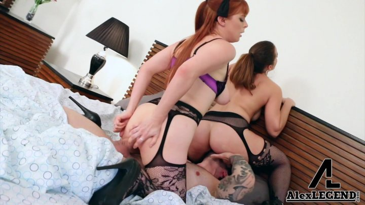 Streaming porn video still #1 from Awesome Threesome Volume 4