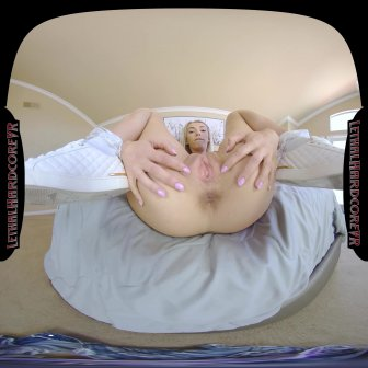 Sky's Teenage Pussy Squirts From Huge Cock video capture Image