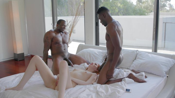 Streaming porn video still #4 from Interracial DP Vol. 2