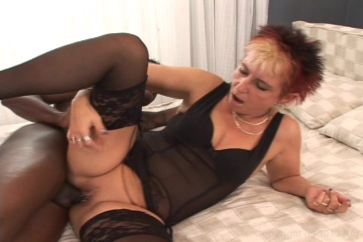 Free Video Preview image 4 from My Grandma Loves Black Cock