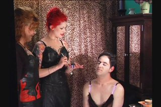 Streaming porn video still #8 from Academy For Sissies Lesson 1: Make-Up & Wigs