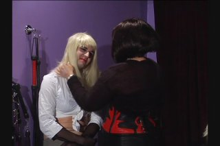 Streaming porn video still #16 from Academy For Sissies Lesson 1: Make-Up & Wigs