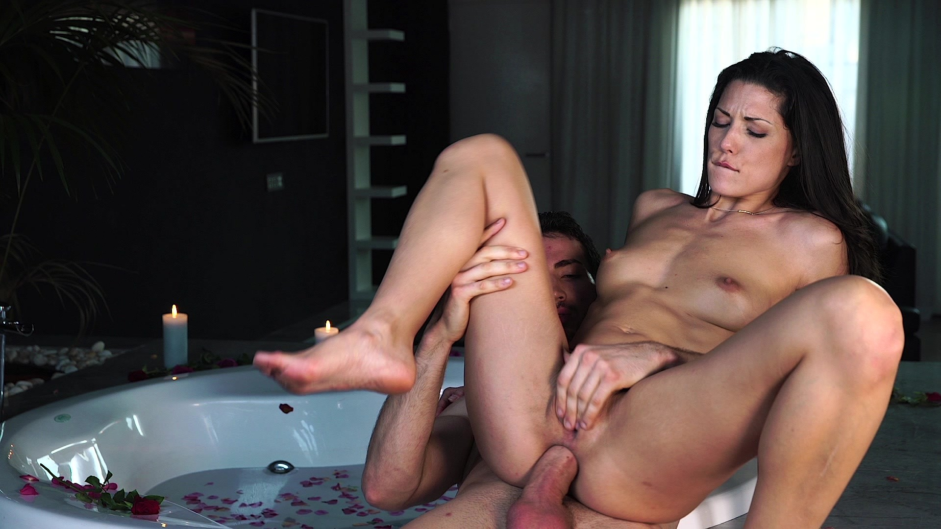 Free hd tushy brunette sara luvv fucked in the ass porn photo