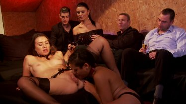 Hardcore Orgy Action With Multiple Studs and Beauties preview