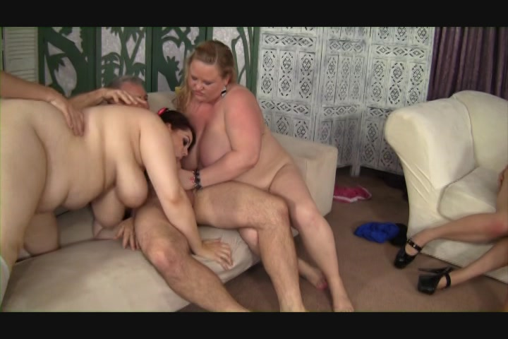 Free Video Preview image 5 from Super Sized Orgy Vol. 2