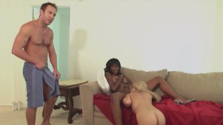 Streaming porn video still #4 from Interracial Love Triangles
