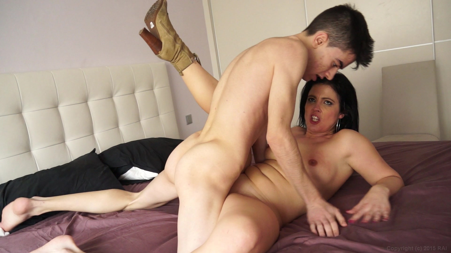 Filthy slut romi rain takes it standing up porn movies abuse