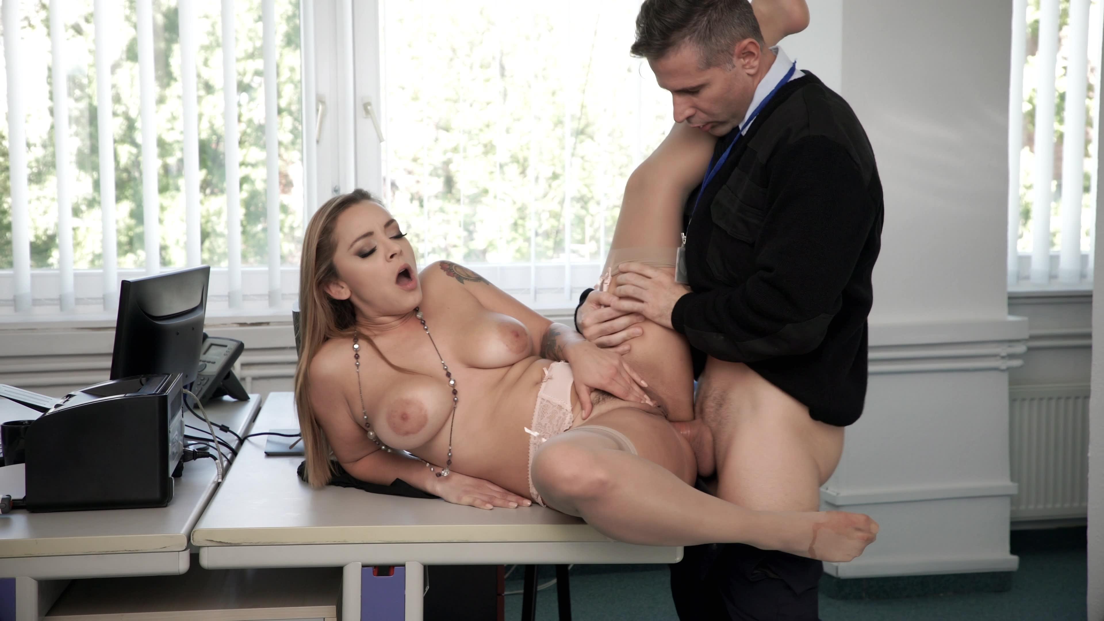 Big boobs clothing model