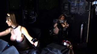 Streaming porn video still #9 from T-Girl Space Pirates