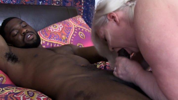 Streaming porn video still #4 from Bad Ass Grandma Series Three: Black Cock