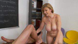 Streaming porn video still #9 from My First Sex Teacher Vol. 64
