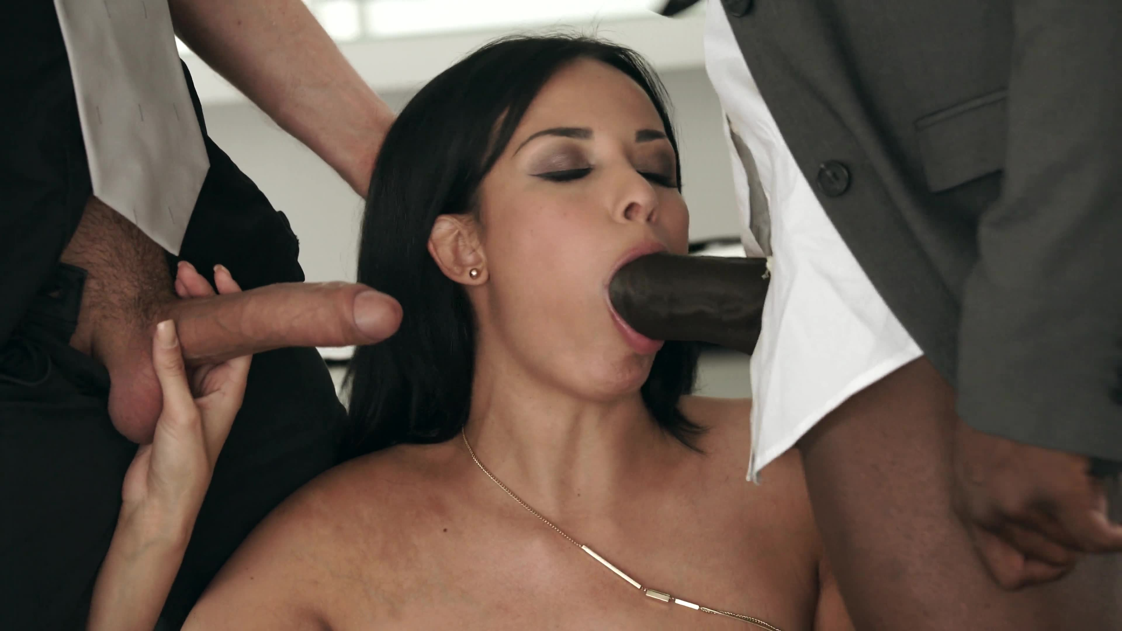 French Milf Anissa Kate Sucks Cock For Greencard Cupids