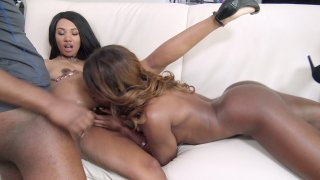 Streaming porn video still #6 from Porn's Top Black Models 5