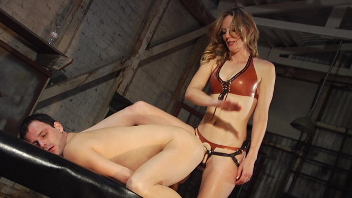 Streaming porn video still #1 from Marcelo: Strapped And Punished