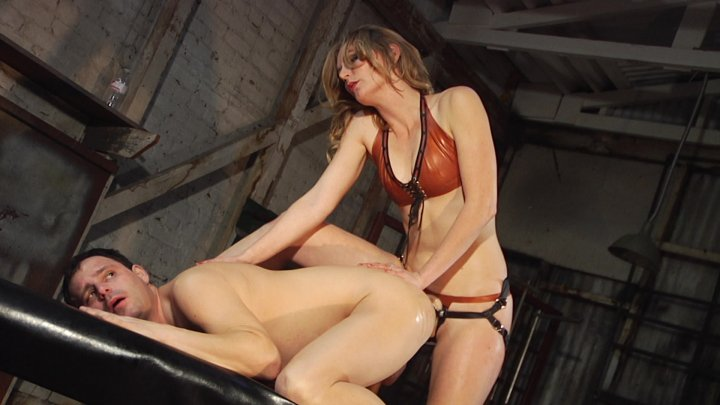 Streaming porn video still #5 from Marcelo: Strapped And Punished