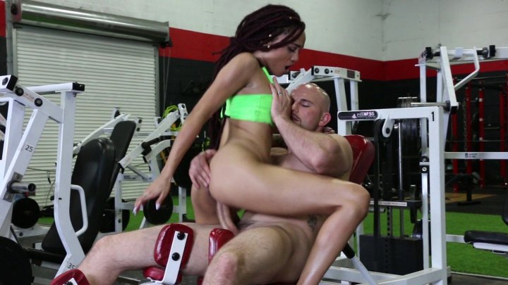 Streaming porn video still #4 from Petite Black 4