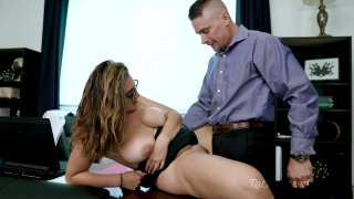 Streaming porn video still #7 from Britt James in Mommy Doesn't Know
