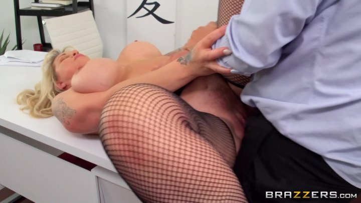 Streaming porn video still #1 from Overworked Titties 8