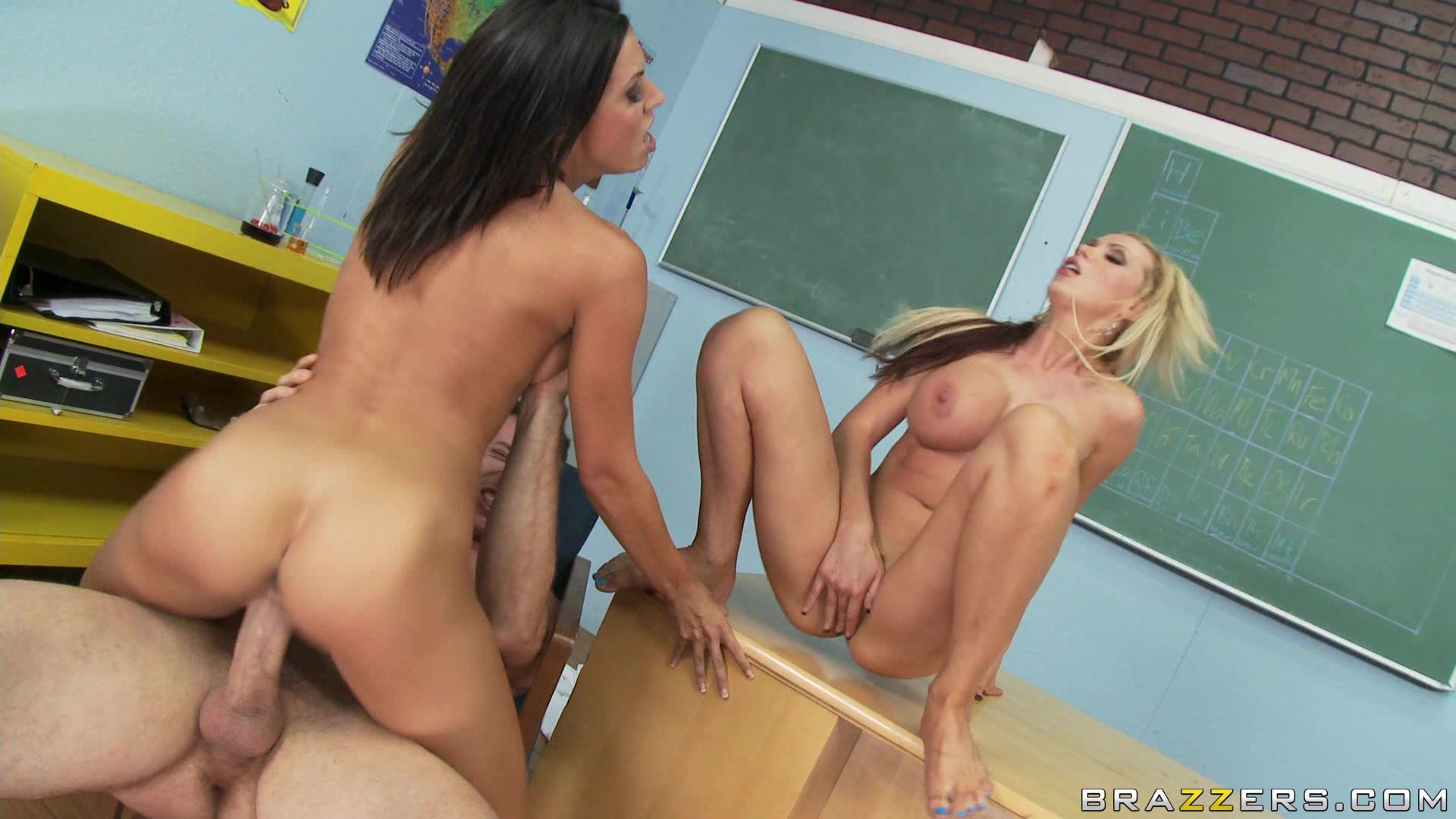 Big tits at school 11