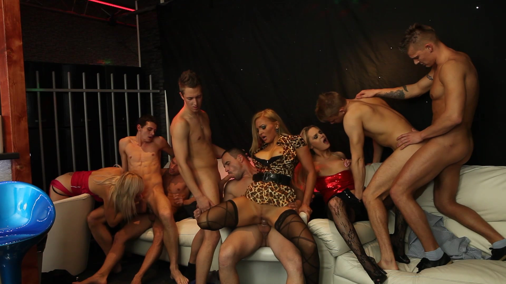 Best porn party bisex fuck fest gif pussyhammer casting