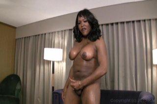Streaming porn video still #1 from Black Tranny Whackers 9