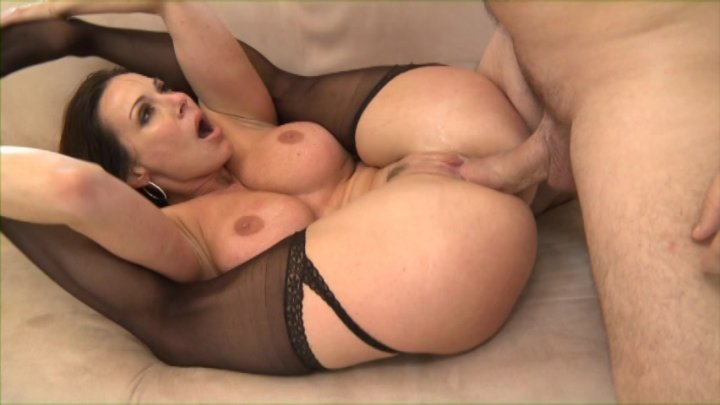 MILF Bombshell Kendra Lust Sucks and Fucks a Hard Cock Dry streaming porn video scene.