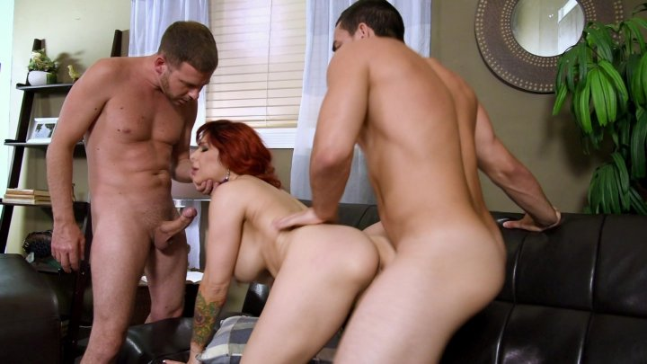 Streaming porn video still #1 from Score Threesomes Hardcut 2