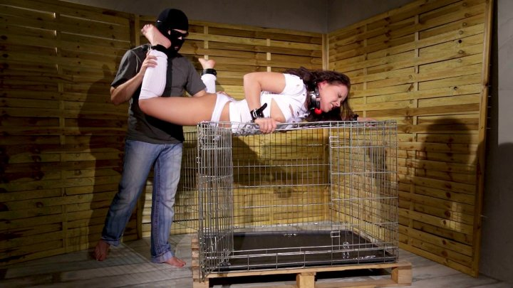 Streaming porn video still #1 from Caged, Chained, Bound and Fucked