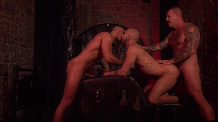Streaming porn video still #4 from Rocco Steele's Barcelona Underground