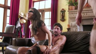 Streaming porn video still #7 from Hotwife Blindfolded 2, A