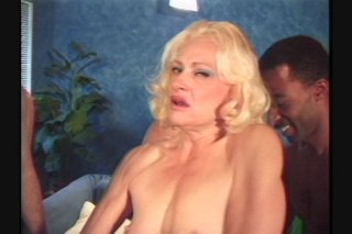 Streaming porn scene video image #1 from Gangbang the mature slut