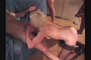 Streaming porn scene video image #7 from Gangbang the mature slut