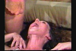 Streaming porn scene video image #8 from Horny granny enjoys gangbang