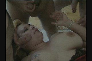 Streaming porn scene video image #1 from Voluptuous BBW gangbang