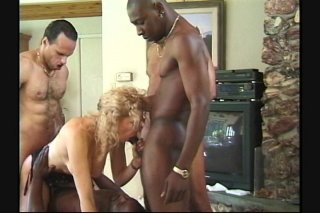 Streaming porn scene video image #5 from Big boobs babe gangbang