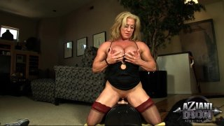 Streaming porn video still #5 from Muscle MILFs Vol. 3