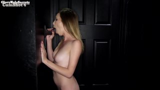 Streaming porn video still #3 from Gloryhole Secrets: Filthy Firsts