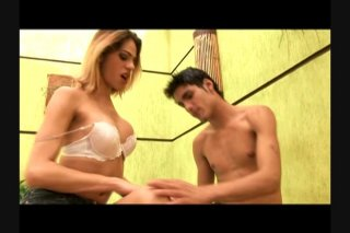 Streaming porn scene video image #2 from Erect Tranny Bangs Her Boyfriend