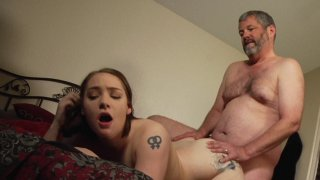 Streaming porn video still #4 from Stepdad Gets Fucked 2