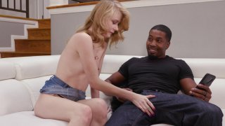 Streaming porn video still #3 from Black Dicks & Tiny Chicks 2