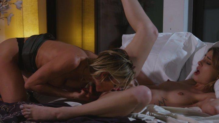 Streaming porn video still #2 from Girls Kissing Girls Vol. 22