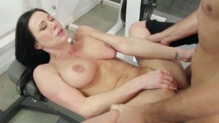 Streaming porn video still #23 from Big Tits In Sports Vol. 16