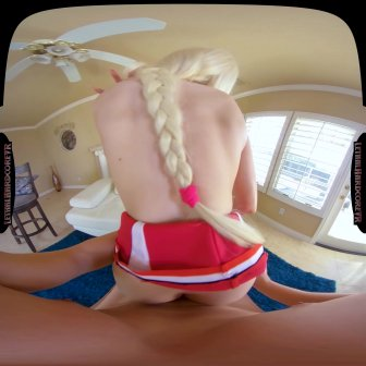 Big Titty Cheerleader video capture Image