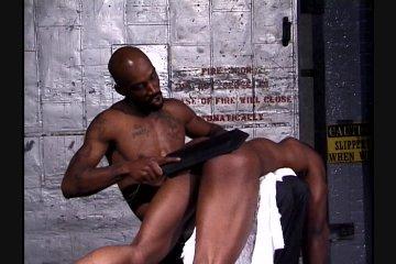 Gay black spanking