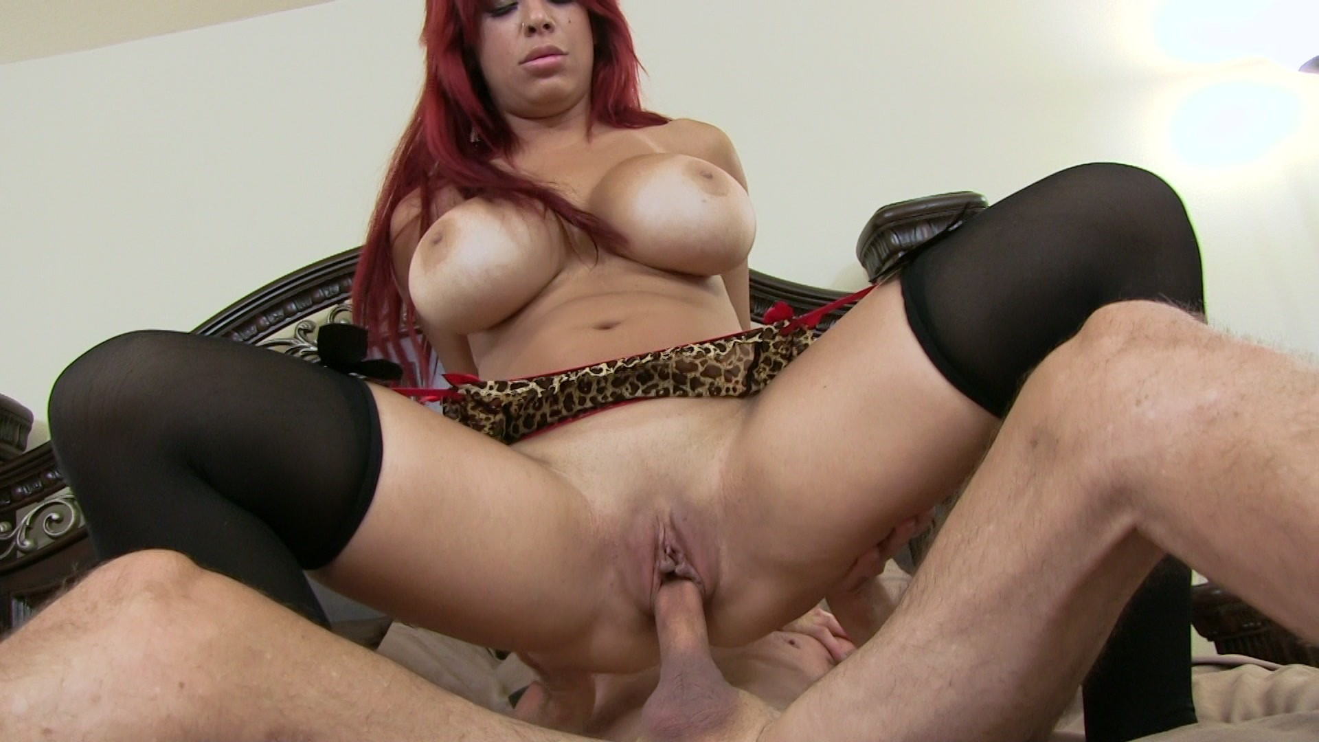 Beautiful Redhead Mom Lacy Lennon Pussy Licked And Fucked Hard By Big White Dick