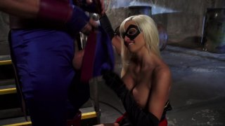 Streaming porn video still #2 from Avengers XXX 2